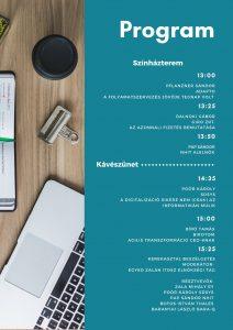 Digitalize now! 2019 - Program - Színházterem